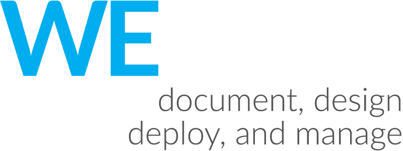 We document, design, deploy, and manage